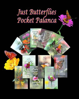 Butterfly Pocket Palanca Prayer Cards for Agape